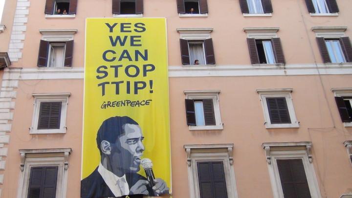 Stop TTIP, migliaia di persone a Roma in nome di diritti e beni comuni