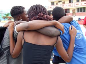 El abrazo de un país