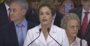 Discours historique de la présidente Dilma Rousseff le 14 mai 2016