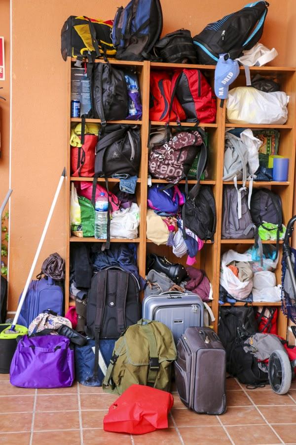 Encuentro Mensajeros Parque Toledo 21 Mayo 2016-equipajes