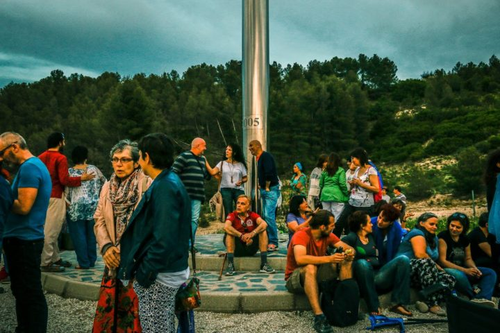 Encuentro Mensajeros Parque Toledo 21 Mayo 2016-monolito