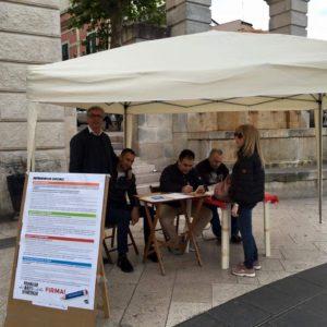Firma Day a sostegno dei referendum sociali