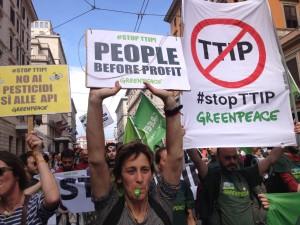 TTIP, le persone prima dei profitti