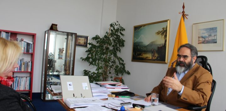 Rückblick mit dem scheidenden Botschafter Ecuadors in Berlin