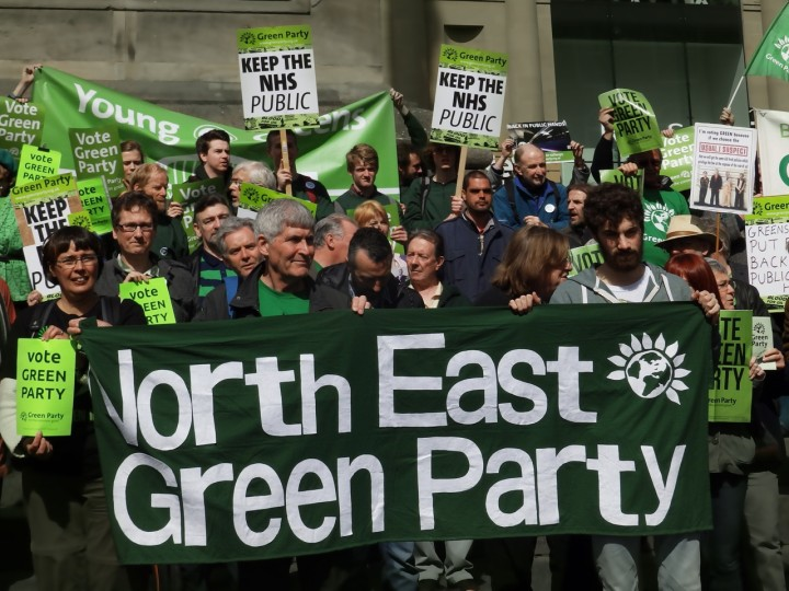 Green Party UK platforms human rights abuses in Poland