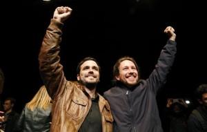 El 98% de las bases de Podemos aprueba en consulta la confluencia con IU