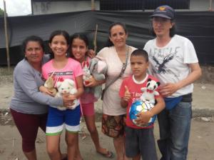 Implementan espacios lúdicos en zonas afectadas por el sismo en Manabí