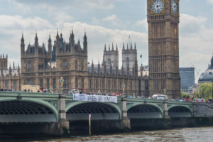 Day of Actions against CETA in London