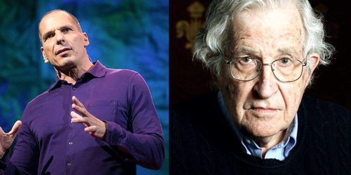 DiEM25 in Wien: Noam Chomsky zur Flüchtlingskrise