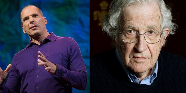 DiEm25 a Vienna, Noam Chomsky sull'emergenza profughi