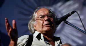 Adolfo Pérez Esquivel: 'Todos sabíamos que llegaba un gobierno neoliberal'