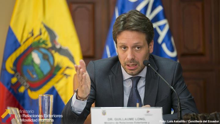 Pace, TPS, disarmo nucleare e Ecuador: il punto di Guillaume Long