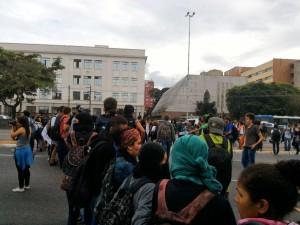 São Paulo: Secundaristas realizam ato pela merenda nas ETECs e pela CPI na merenda nas EEs