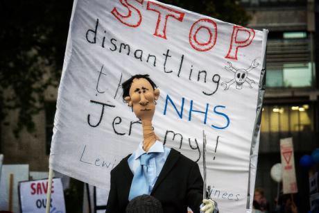 UK's National Health Service soon needing thorough check up