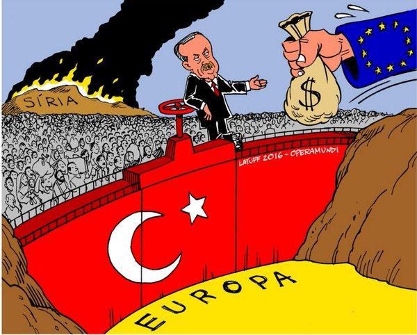 Baher Kamal: «El acuerdo entre Turquía y la UE es un pacto entre traficantes de seres humanos»