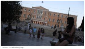 El 95% de las ayudas del rescate a Grecia sirvió para pagar deudas e intereses