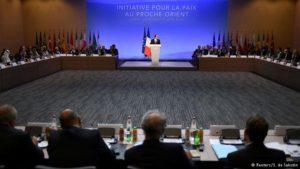 Francia: reunión para retomar negociaciones de paz palestino-israelíes