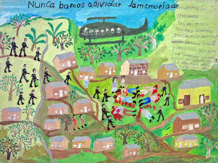 Un ejemplo de paz entre guerrillas