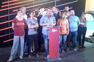En Común Podemos gana las elecciones en Cataluña pero no consigue los resultados esperados en el conjunto del estado español