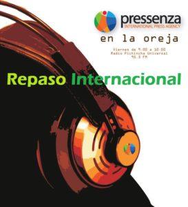 Repaso internacional de noticias En la Oreja 26/08/2016