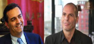 """""""Città ribelli e democrazia in Europa"""": de Magistris e Varoufakis il 23 giugno a Roma"""
