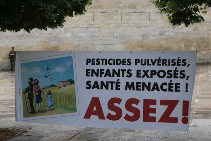Procès sur l'utilisation des pesticides au Tribunal de Grande Instance de Bordeaux1
