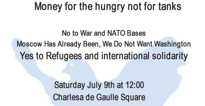 Alternativgipfel zu NATO Gipfel in Warschau