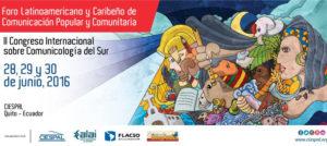 Equador sedia Fórum Latino-Americano e Caribenho de Comunicação Popular e Comunitária