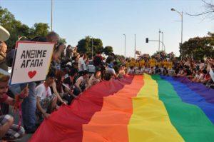 Η ελληνική ΛΟΑΤ κοινότητα γιορτάζει