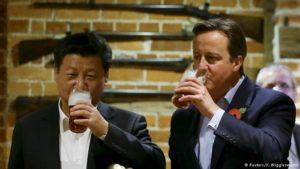 """Ende der """"Goldenen Beziehungen"""" Chinas zu London?"""