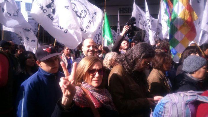 Concentración Ministerio de Justicia liberación Milagro Sala