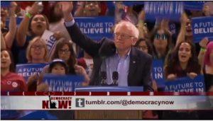 As Sanders endorses Clinton, how far left has he pushed the Democratic Party platform?