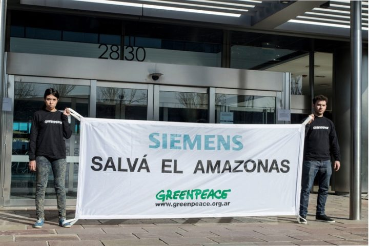 Tapajós Action at Siemens Office in Buenos Aires