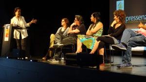 Presentación de Pressenza en  Calabria_66, Barcelona
