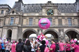 La Marche des Fiertésdit stop aux LGBTIphobies