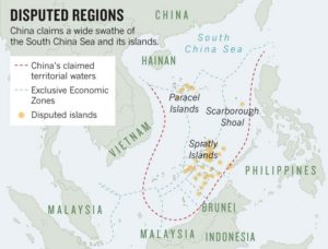 Waiting for calm in the South China Sea