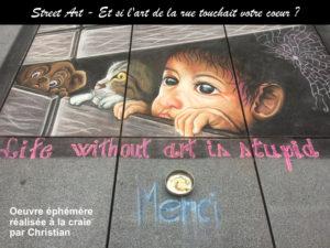 Street Art N°1: deja que el arte te conmueva