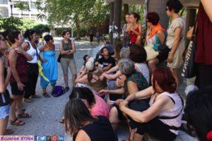 La Carovana per la Grecia prepara proteste e incontra i rifugiati