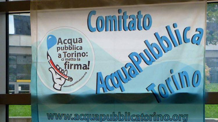acqua pubblica torino