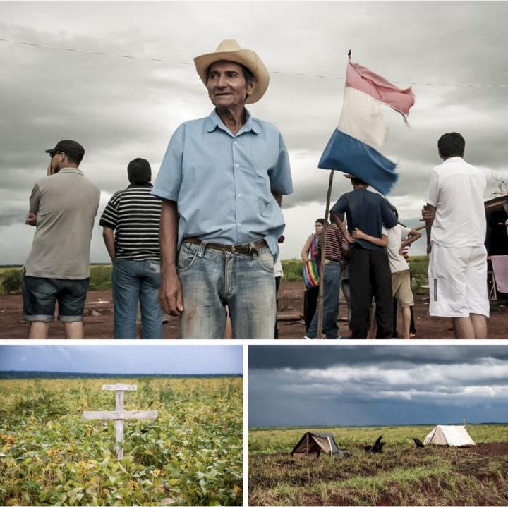 La Justicia paraguaya sigue sin pronunciarse sobre la propiedad de las tierras de Marina Kue, donde ocurrió la masacre de Curuguaty. Fotos: CigarraPy