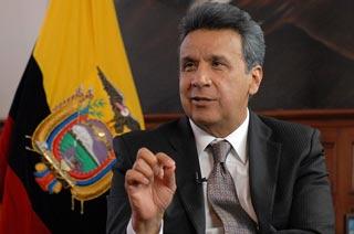 Lenín Moreno lidera preferencias de elección presidencial en Ecuador