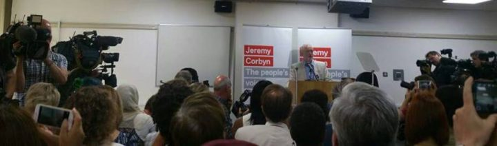 lancio campagna Corbyn