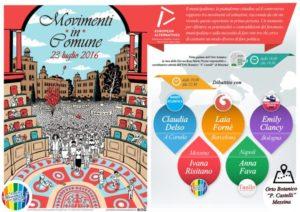 """""""Movimenti in Comune"""" il 23 luglio a Messina"""