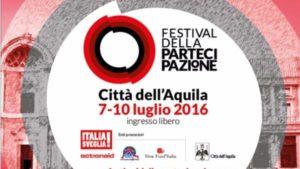Parte oggi il Festival della Partecipazione a L'Aquila