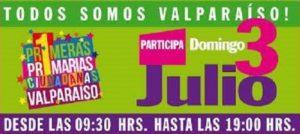 """Primarias Ciudadanas Valparaíso: """"Todos a votar este domingo"""""""