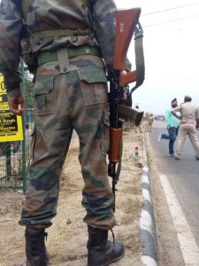 Continued violence by military not an answer in Kashmir