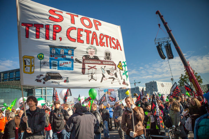Rallentamento negoziato TTIP e ratifica CETA prime vittorie, ma non bastano