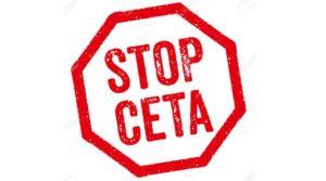 Diciamo NO al CETA perché privatizzerà l'acqua e i servizi pubblici