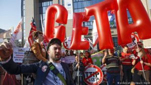 Growing protest against TTIP and CETA trade agreements in Germany