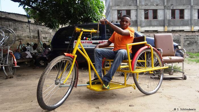 Mit dem Rollstuhl in eine bessere Zukunft